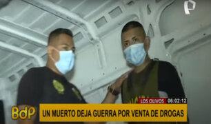 Los Olivos: disputa territorial por venta de drogas deja un muerto y un herido