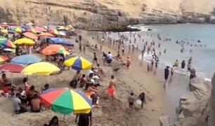 Decenas de personas acuden a playas de Chorrillos pese a restricciones