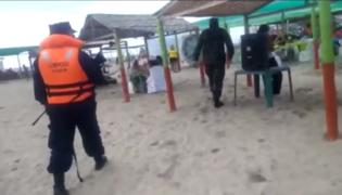 Tumbes: Ejército interviene fiesta con 300 personas en Isla del Amor