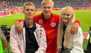Hermana de futbolista del Borussia es considerada héroe de guerra en Noruega