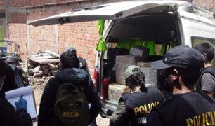 Puno: incautan  media tonelada de marihuana en distrito fronterizo de Desaguadero