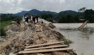 San Martín: mujer y su bebé de tres meses mueren ahogadas tras caer al río Mayo