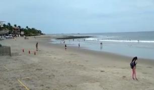 Autorizan ingreso a playas de La Libertad, Piura y Lambayeque ante la reducción de contagios