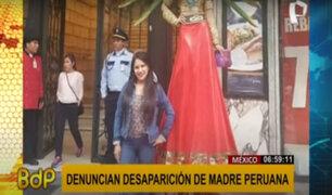 Familia busca a madre peruana desaparecida hace 7 meses en México