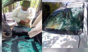 Tumbes: taladores ilegales atacan a cuidadores de Sernanp