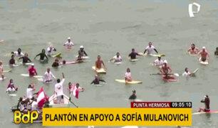 Sofía Mulanovich: realizan plantón tras quitarle cupo directo al Mundial de Surf 2021