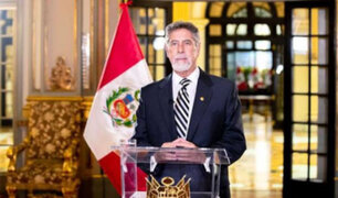 Presidente Sagasti reitera que tenemos aseguradas hasta fin de año 48 millones de vacunas