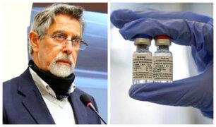Sagasti: Todos podrán comprar vacunas cuando se produzcan en grandes cantidades