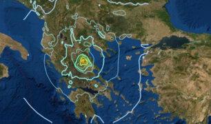 Terremoto de magnitud 6.0 se registró este miércoles en Grecia