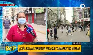Gamarra: comerciantes piden el 100% de aforo de trabajadores y 50% de clientes
