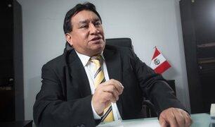 José Luna Gálvez pidió que se suspenda su sanción para asumir cargo como congresista