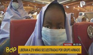 Nigeria: liberan a 279 escolares secuestradas por grupo armado
