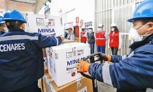 Nuevo lote de 50 mil vacunas Pfizer llegará el 11 de marzo, asegura ministro Ugarte