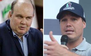 Urresti saludó que Forsyth y López Aliaga sigan en carrera electoral