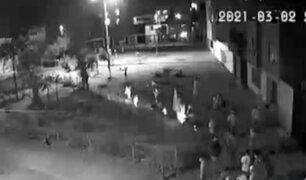 SMP: vecinos denuncian que parque ha sido tomado por pandilleros
