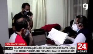 """Megaoperativo contra """"falsas intervenciones"""": allanan domicilio del jefe de la Depincri de Apolo"""