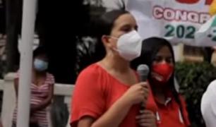 Verónika Mendoza anunció que de ser presidenta convocará a una Asamblea Constituyente