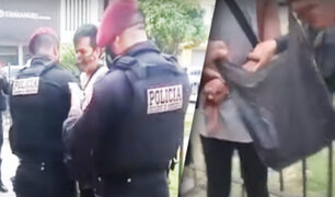 "Independencia: cae alias ""Pittbull"" vendiendo droga por delivery"