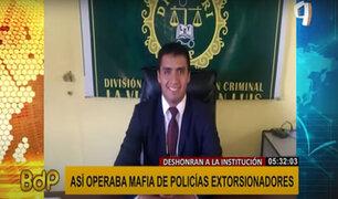 """""""Los Casasola"""": así operaba mafia de policías """"sembrando"""" droga a sus víctimas"""