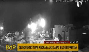 """SMP: vecinos atemorizados por grupo violento llamado """"Los Chacales"""""""