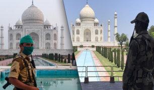 Taj Mahal fue evacuado por un falso aviso de bomba