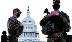 EEUU: cancelan actividades por la amenaza de asalto al Capitolio