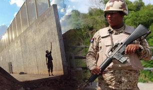 República Dominicana planea construir muro para frenar migración ilegal desde Haití