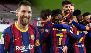 ¡Remontada! Barcelona goleó 3-0 al Sevilla por la Copa del Rey