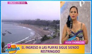 Chorrillos: multarán con S/540 a bañistas que ingresen indebidamente a playas