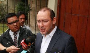 Caso Odebrecht: José Chlimper continuará siendo investigado por lavado de activos agravado