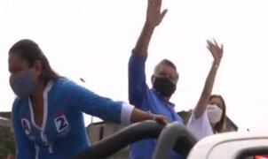 César Acuña y candidatos al Congreso recorrieron San Juan de Lurigancho para ganar votos