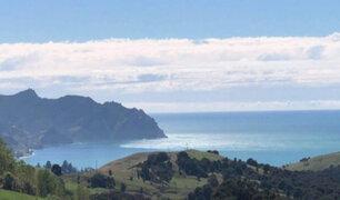 Terremoto en Nueva Zelanda: estas fueron las primeras imágenes del tsunami