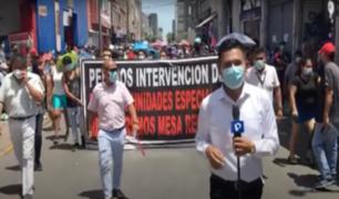Comerciantes formales de Mesa Redonda exigen el retiro definitivo de ambulantes
