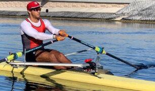 Tokio 2020: remador peruano Álvaro Torres logra su clasificación tras quedar quinto en Preolímpico