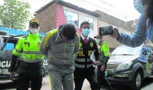 Detienen a sujeto que estaría implicado en violación a su amiga menor de edad en Huancayo
