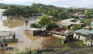Damnificados piden urgente ayuda: intensas lluvias aíslan centro poblado Malingas en Piura