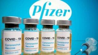 Reportan que siete dosis de la vacuna de Pfizer se perdieron en Arequipa