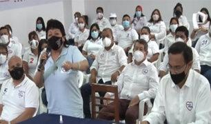 Dirigencia de Somos Perú minimiza renuncia de militantes, Bonifaz y Zurek
