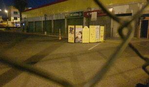 Trabajador de seguridad muere en estacionamiento de un supermercado en el Callao