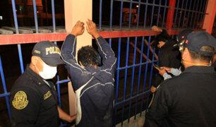 Chorrillos: capturan a miembros de banda criminal cuando  participaban de fiesta Covid