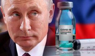 """Vladímir Putin: """"Más de 4 millones de rusos han sido vacunados contra la COVID-19"""""""