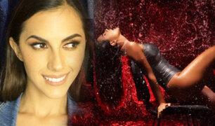 Manuela Camacho y su sexy fotografía 'Flashdance'