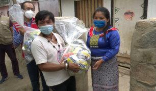 Entregan cerca de 8 toneladas de alimentos de primera necesidad a comunidad Shipibo-Konibo