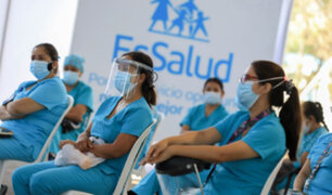 Adultos mayores: EsSalud supervisa capacitación y logística para iniciar vacunación