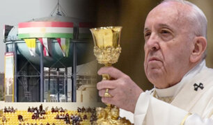 Papa Francisco celebra misa en Irak ante 20 mil personas