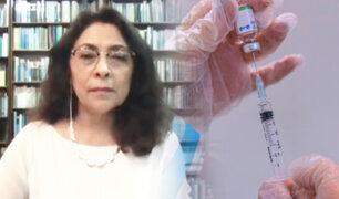 """Violeta Bermúdez: """"Las vacunas que tiene el Estado peruano para su población son seguras"""""""