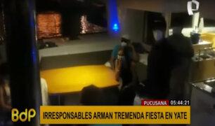 Pucusana: intervienen a 11 personas por realizar fiesta al interior de un yate