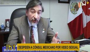 ¡Escándalo! despiden a cónsul mexicano por video sexual