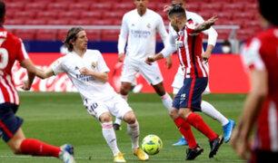 Real Madrid empató 1-1 con Atlético por la fecha 26 de LaLiga