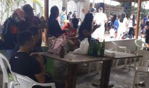 Chimbote: intervienen a más de 70 personas que participaban en una reunión social